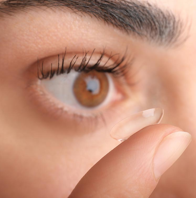 eb91e62150f We Make Contact Lenses Work For You. brown eyes